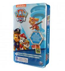 Настольная игра: домино «Щенячий патруль» (в жестяной коробке) купить в интернет магазине подарков ПраздникШоп