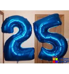 Фольгированная цифра 25 купить в интернет магазине подарков ПраздникШоп
