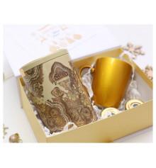 """Подарочный набор """"White&Gold"""" купить в интернет магазине подарков ПраздникШоп"""