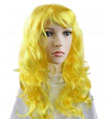 Парик волнистый желтый купить в интернет магазине подарков ПраздникШоп