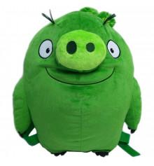 Рюкзак плюшевый Angry Birds Свинка купить в интернет магазине подарков ПраздникШоп