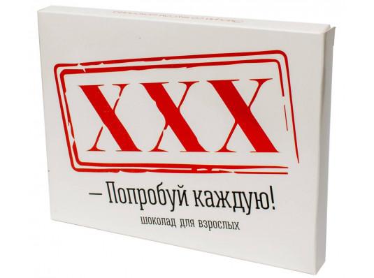 """Шоколадный набор на 12 шоколадок """"XXX"""" купить в интернет магазине подарков ПраздникШоп"""