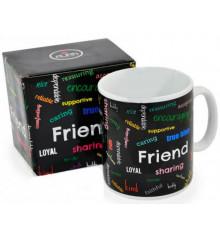 """Кружка - гигант """"Friend"""" купить в интернет магазине подарков ПраздникШоп"""