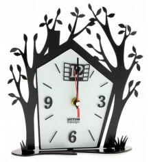 """Часы """"Домик с деревьями"""" купить в интернет магазине подарков ПраздникШоп"""