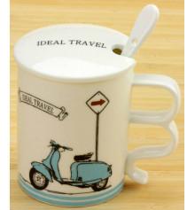 """Чашка Ideal travel """"MOTO"""" купить в интернет магазине подарков ПраздникШоп"""