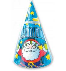 Колпак дед мороз 8шт купить в интернет магазине подарков ПраздникШоп