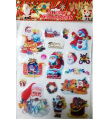 Наклейки на окно объемные купить в интернет магазине подарков ПраздникШоп