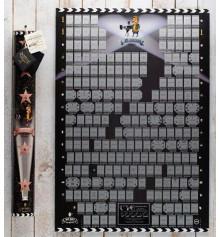 """Скретч постер """"Cinema edition 21 century"""" купить в интернет магазине подарков ПраздникШоп"""