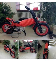 """Фигура из шаров """"Мотоцикл"""" купить в интернет магазине подарков ПраздникШоп"""