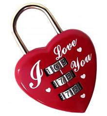 """Замок кодовый """"Сердце"""" купить в интернет магазине подарков ПраздникШоп"""