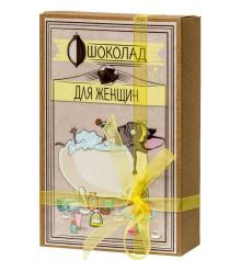 """Шоколадный набор (мопс) """"Для женщин"""" купить в интернет магазине подарков ПраздникШоп"""