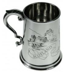 Пивная кружка с шотландской гравюрой купить в интернет магазине подарков ПраздникШоп