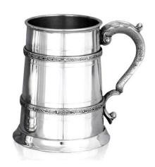 Пивная кружка (танкард) с кельтскими поясами купить в интернет магазине подарков ПраздникШоп