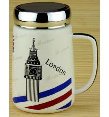 """Кружка """"Travel Cup"""" (Лондон, Париж) купить в интернет магазине подарков ПраздникШоп"""