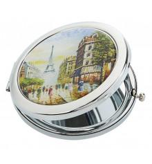 """Карманное зеркало """"Париж"""" купить в интернет магазине подарков ПраздникШоп"""