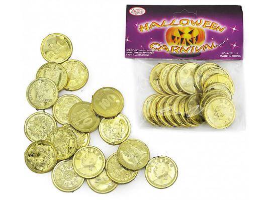 """Монеты """"Пиастры золотые"""" ( 24 шт ) купить в интернет магазине подарков ПраздникШоп"""