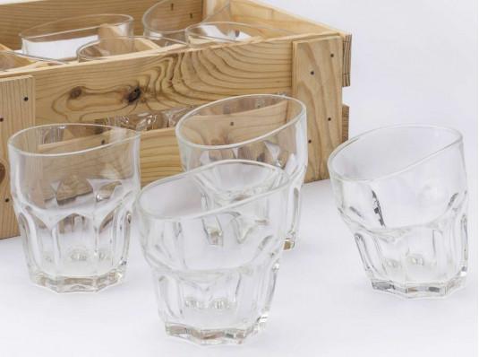 """Набор """"Пьяных стаканов для виски"""" купить в интернет магазине подарков ПраздникШоп"""