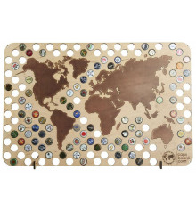 Пивная карта мира купить в интернет магазине подарков ПраздникШоп