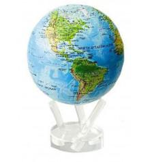 """Глобус """"Физическая карта"""" (самовращающийся) №2 купить в интернет магазине подарков ПраздникШоп"""