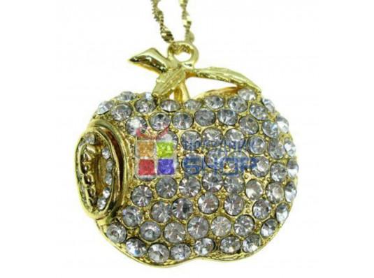 """Флешка """"Apple Gold"""" купить в интернет магазине подарков ПраздникШоп"""