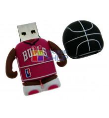 """Флешка """"Баскетболист"""" (водонепроницаемая) купить в интернет магазине подарков ПраздникШоп"""