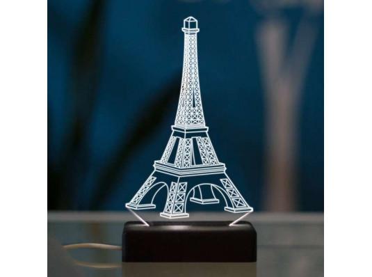 """3D светильник """"Париж"""" купить в интернет магазине подарков ПраздникШоп"""