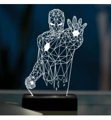 """3D светильник """"Железный человек"""" купить в интернет магазине подарков ПраздникШоп"""