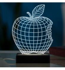 """3D светильник """"Яблоко"""" купить в интернет магазине подарков ПраздникШоп"""