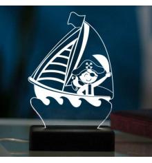 """3D светильник """"Пират"""" купить в интернет магазине подарков ПраздникШоп"""