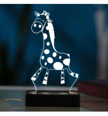 """3D светильник """"Жираф"""" купить в интернет магазине подарков ПраздникШоп"""