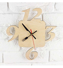 """Часы """"Кухонные"""" купить в интернет магазине подарков ПраздникШоп"""