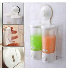 Дозатор для жидкого мыла на 2 емкости купить в интернет магазине подарков ПраздникШоп