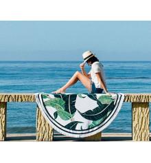 """Пляжный коврик """"Пальмовые листья"""" купить в интернет магазине подарков ПраздникШоп"""