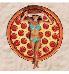 """Пляжный коврик """"Пицца"""" купить в интернет магазине подарков ПраздникШоп"""