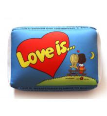 """Подушка """"Love is"""" купить в интернет магазине подарков ПраздникШоп"""