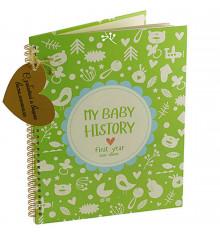 """Фотоальбом """" My Baby History"""" купить в интернет магазине подарков ПраздникШоп"""