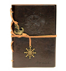 Блокнот 'Adventure' светло-коричневый купить в интернет магазине подарков ПраздникШоп