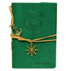 Блокнот 'Adventure' зелёный купить в интернет магазине подарков ПраздникШоп