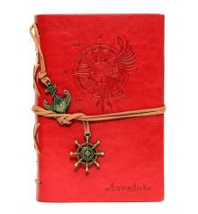 Блокнот 'Adventure' красный купить в интернет магазине подарков ПраздникШоп