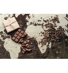 """Скретч карта мира """"My Map Chocolate Edition"""" купить в интернет магазине подарков ПраздникШоп"""