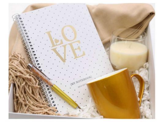 Подарочный набор «Gold Beauty» купить в интернет магазине подарков ПраздникШоп