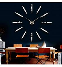 """Часы - наклейки настенные """"Пуля"""" купить в интернет магазине подарков ПраздникШоп"""