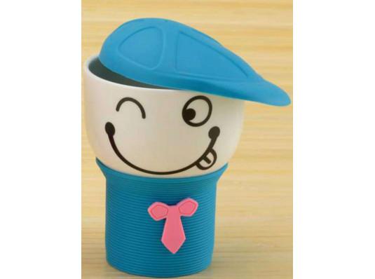 Чашка с кепочкой, 4 вида купить в интернет магазине подарков ПраздникШоп