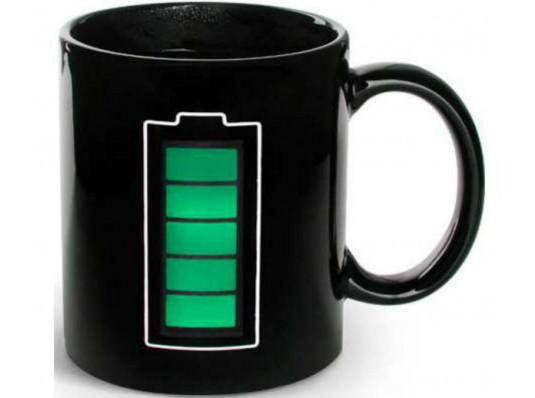"""Чашка """"Батарейка"""" купить в интернет магазине подарков ПраздникШоп"""