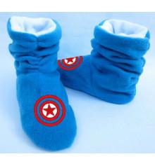 """Тапочки """"Капитан Америка"""", 2 цвета купить в интернет магазине подарков ПраздникШоп"""