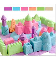 Кинетический песок (6 цветов) купить в интернет магазине подарков ПраздникШоп