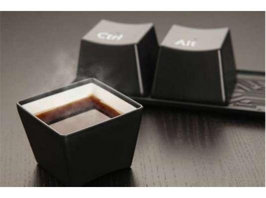 """Набор чашек """"Ctrl-Alt-Del"""" купить в интернет магазине подарков ПраздникШоп"""