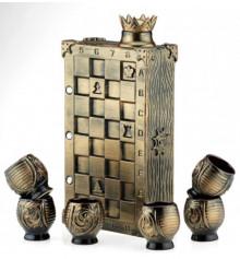 """Коньячный набор """"Шахматы"""" купить в интернет магазине подарков ПраздникШоп"""