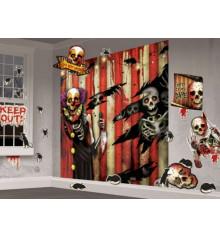 """Декорация настенная """"Карнавал Halloween"""" 32 элемента купить в интернет магазине подарков ПраздникШоп"""