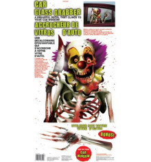 """Наклейка на окно""""Клоун"""" купить в интернет магазине подарков ПраздникШоп"""